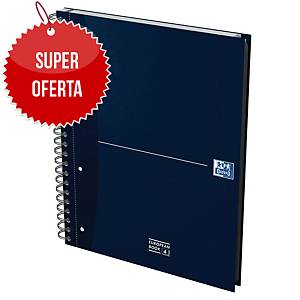 OXFORD OFFICE ESSENTIALS EUROPEAN BOOK HARD COVER A4+ RULED 90G 120 SHEETS