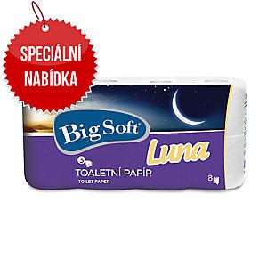 Toaletní papír Big Soft Deluxe Luna, 8 kusů
