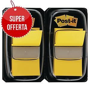 Segnapagina Post-it® Index medium gialli 2 dispenser da 50 pz cad.