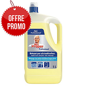 Nettoyant multi-surfaces Mr Propre - citron - bidon de 5 L