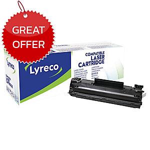 LYRECO COMPATIBLE 35A LASER CARTRIDGE HP CB435A - BLACK