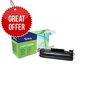 Lyreco HP CB435A Compatible Laser Cartridge - Black