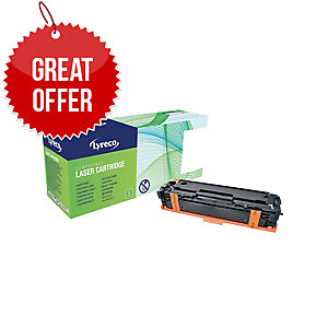 Lyreco HP CB540A Compatible Laser Cartridge - Black