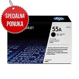 HP laserový toner 55A (CE255A) čierny