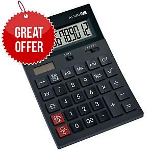 Canon AS-1200 12-Digit Desktop Calculator Black