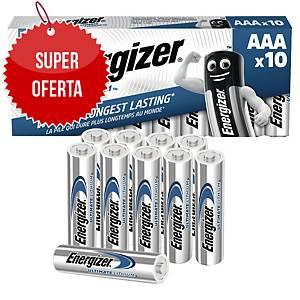 Baterie ENERGIZER® Ultimate Lithium LR3/AAA, w opakowaniu 10 sztuk