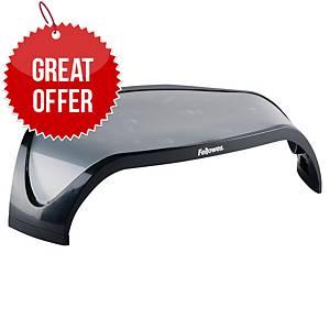 Fellowes 8020801 monitor riser for flatscreen adjustable height black/gray