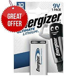 Energizer Ultimate Lithium Battery 6LR61/9V
