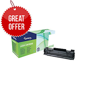 Lyreco HP CE285A Compatible Laser Cartridge - Black