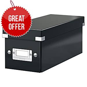 LEITZ CLICK AND STORE CD/DVD BOX BLACK