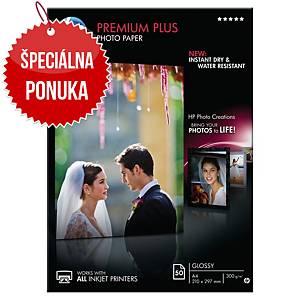Fotopapier HP Premium+ CR674a lesklý, 300 g/m²