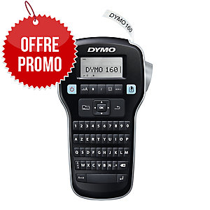 TITREUSE DYMO LABEL MANAGER 160P TOUCHES DE RACCOURCI CLAVIER AZERTY ECRAN LCD