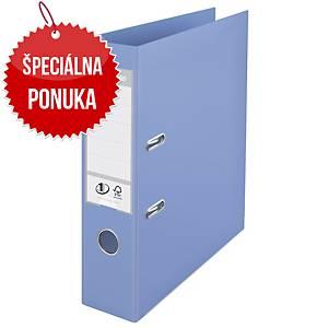 Pákový zakladač Esselte No. 1 Power Solea, A4, šírka chrbta 7,5 cm, modrý