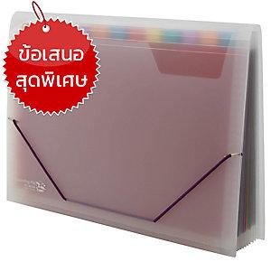 FLAMINGO แฟ้มหีบเพลง 4414A A4 323x235 มิลลิเมตร คละสี