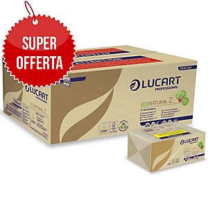 Asciugamani intercalati a Z Eco Natural Lucart H3 - conf.18 pacchi da 220