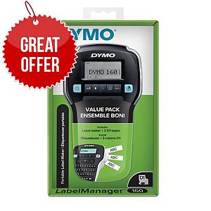 DYMO LabelManager 160 Value Pack
