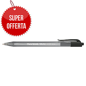 PENNA A SFERA A SCATTO PAPERMATE® INKJOYTM 100RT PUNTA 1 MM NERO
