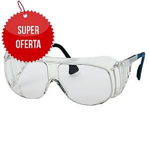 Okulary UVEX OVER 9161.005, soczewka bezbarwna, filtr UV 400