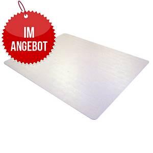 Bodenschutzmatte Cleartex advantagemat, 150x120cm, für Teppichböden, transparent