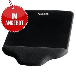 Fellowes Handgelenkauflage mit Mauspad PlushTouch 9297401, FoamFusion, schwarz