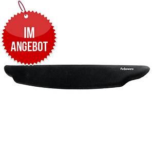 Fellowes Tastaturhandgelenkauflage PlushTouch 9297501, FoamFusion, schwarz