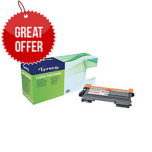 Lyreco Brother TN-2280 Compatible Laser Cartridge - Black