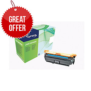 Lyreco HP CE401A Compatible Laser Cartridge - Cyan
