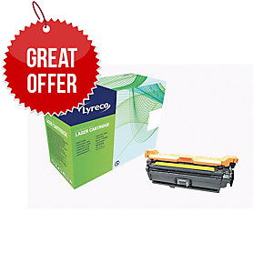Lyreco HP CE402A Compatible Laser Cartridge - Yellow