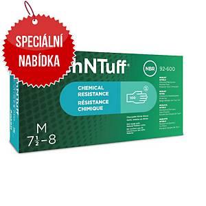 Jednorázové nitrilové rukavice Ansell TouchNTuff® 92-600, velikost 8.5-9, 100ks