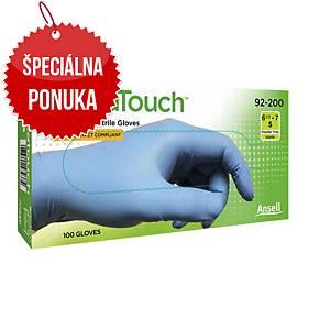 Jednorazové nitrilové rukavice Ansell VersaTouch® 92-200, veľkosť 7.5-8, 100ks