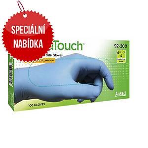 Jednorázové nitrilové rukavice Ansell VersaTouch® 92-200, velikost 8.5-9, 100ks