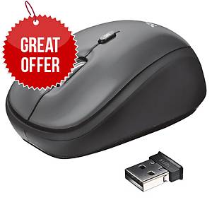 Trust YVI Wireless Mouse - Black