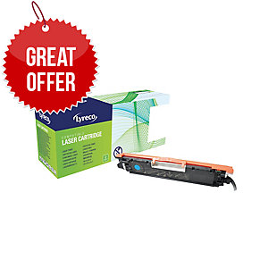 Lyreco HP CE311A Compatible Laser Cartridge - Cyan