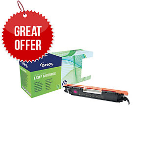 Lyreco HP CE313A Compatible Laser Cartridge - Magenta