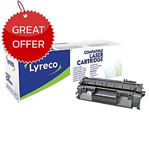 LYRECO COMPATIBLE 80A HP LASERJET TONER CARTRIDGE  CF280A - BLACK