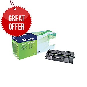 Lyreco HP CF280ACOMPATIBLE Laser Cartridge - Black