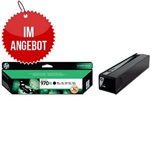 Tintenpatrone HP CN625AE - 970XL, Reichweite: 9.200 Seiten, schwarz