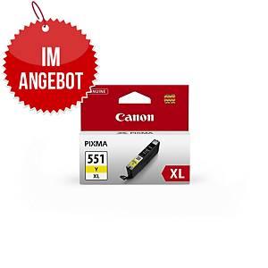 CANON Tintenpatrone CLI-551Y XL (6446B001) gelb