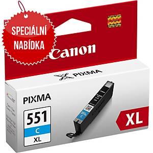 CANON inkoustová kazeta CLI-551C XL (6444B001), cyan