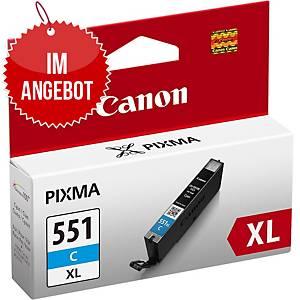 CANON Tintenpatrone CLI-551C XL (6444B001) cyan