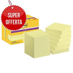 FOGLIETTI POST-IT® ADESIVO SUPER STICKY:12 BLOCCHETTI 47,6x47,6MM GIALLO CANARY™