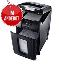 Aktenvernichter Rexel Auto+ 300X, 4 x 40mm Partikelschnitt, Leistung: 300 Blatt