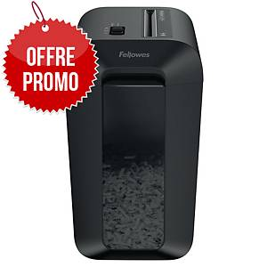 Destructeur Fellowes Powershred® 60Cs - coupe croisée