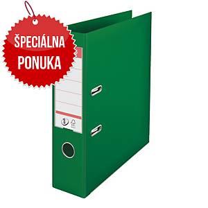 Pákový zakladač Esselte No.1 Power, A4, šírka chrbta 7,5 cm, zelený