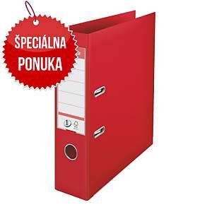 Pákový zakladač Esselte No.1 Power, A4, šírka chrbta 7,5 cm, červený