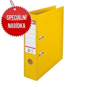Pákový pořadač Esselte No. 1 Power, A4, šířka hřbetu 7,5 cm, žlutá