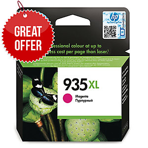 HP 935XL High Yield Magenta Original Ink Cartridge (C2P25AE)