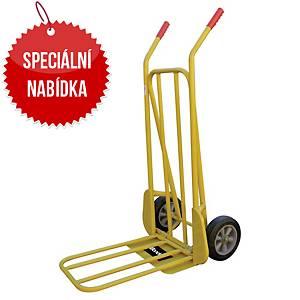 Ruční plošinový vozík Safetool 3210, skládací, nosnost 250 kg