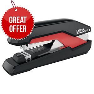 Rapid Omnipress Supreme Superflatclinch Stapler S060 - Red/Black