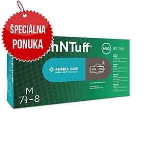Jednorazové nitrilové rukavice Ansell TouchNTuff® 93-250, veľkosť 8.5-9, 100ks